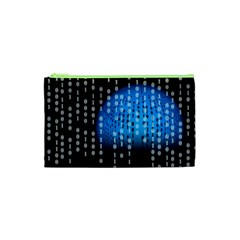 Binary Rain Cosmetic Bag (XS)