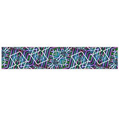 Colorful Geometric Print Flano Scarf (Large)