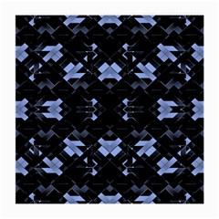 Futuristic Geometric Design Glasses Cloth (medium)