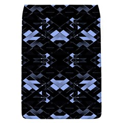 Futuristic Geometric Design Removable Flap Cover (small)