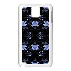 Futuristic Geometric Design Samsung Galaxy Note 3 N9005 Case (White)