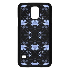 Futuristic Geometric Design Samsung Galaxy S5 Case (Black)