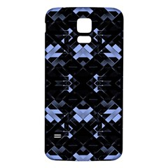 Futuristic Geometric Design Samsung Galaxy S5 Back Case (White)