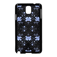 Futuristic Geometric Design Samsung Galaxy Note 3 Neo Hardshell Case (black)