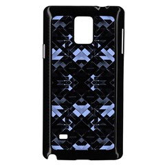 Futuristic Geometric Design Samsung Galaxy Note 4 Case (black)