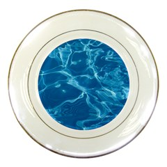 Water  Porcelain Display Plate