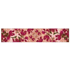 Vintage Floral Print Flano Scarf (Small)