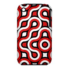 Waves and circles Apple iPhone 3G/3GS Hardshell Case (PC+Silicone)