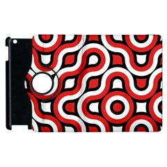Waves And Circles Apple Ipad 3/4 Flip 360 Case