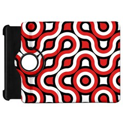 Waves And Circles Kindle Fire Hd Flip 360 Case