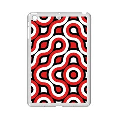 Waves and circles Apple iPad Mini 2 Case (White)