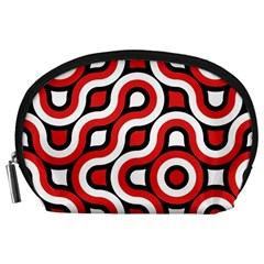 Waves and circles Accessory Pouch (Large)