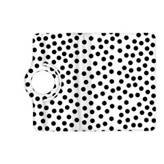 Black Polka Dots Kindle Fire Hd (2013) Flip 360 Case