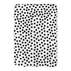 Black Polka Dots Samsung Galaxy Tab Pro 12.2 Hardshell Case