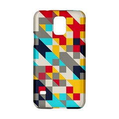 Colorful shapes Samsung Galaxy S5 Hardshell Case