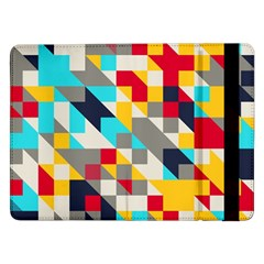 Colorful shapes Samsung Galaxy Tab Pro 12.2  Flip Case