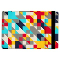 Colorful Shapes Apple Ipad Air Flip Case