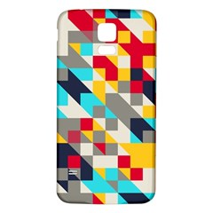 Colorful Shapes Samsung Galaxy S5 Back Case (white)