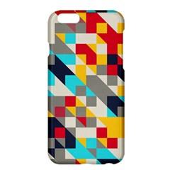 Colorful shapes Apple iPhone 6 Plus Hardshell Case