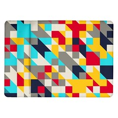 Colorful shapes Samsung Galaxy Tab 10.1  P7500 Flip Case