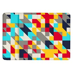 Colorful Shapes Samsung Galaxy Tab 8 9  P7300 Flip Case