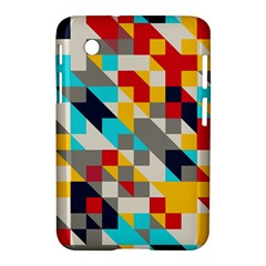 Colorful Shapes Samsung Galaxy Tab 2 (7 ) P3100 Hardshell Case