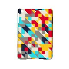 Colorful shapes Apple iPad Mini 2 Hardshell Case