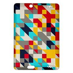 Colorful shapes Kindle Fire HD (2013) Hardshell Case