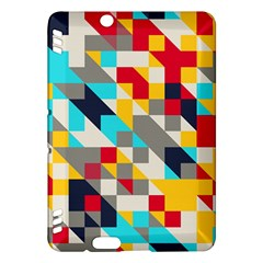Colorful Shapes Kindle Fire Hdx Hardshell Case