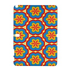 Floral pattern Samsung Galaxy Note 10.1 (P600) Hardshell Case