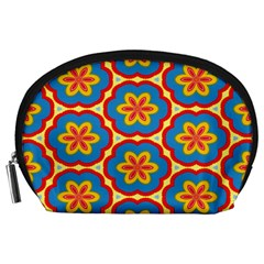 Floral Pattern Accessory Pouch (large)