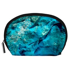 Turquoise Accessory Pouch (Large)