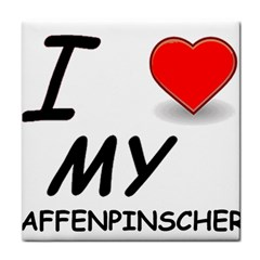 Affen Love Ceramic Tile