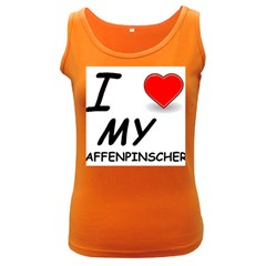 Affen Love Women s Tank Top (Dark Colored)