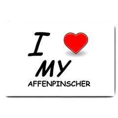 Affen Love Large Door Mat