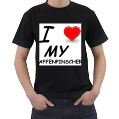 Affen Love Men s T-shirt (Black)