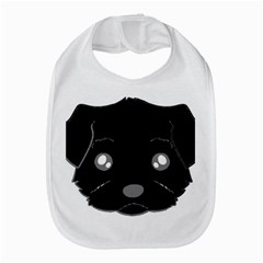 Affenpinscher Cartoon 2 Sided Head Bib