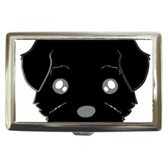 Affenpinscher Cartoon 2 Sided Head Cigarette Money Case