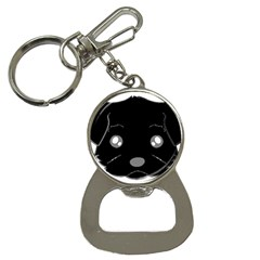 Affenpinscher Cartoon 2 Sided Head Bottle Opener Key Chain