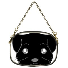 Affenpinscher Cartoon 2 Sided Head Chain Purse (One Side)