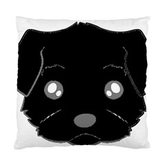 Affenpinscher Cartoon 2 Sided Head Cushion Case (Single Sided)