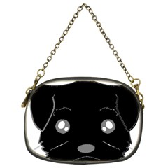 Affenpinscher Cartoon 2 Sided Head Chain Purse (Two Sided)