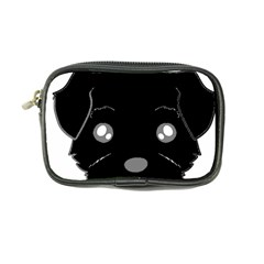 Affenpinscher Cartoon 2 Sided Head Coin Purse