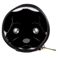 Affenpinscher Cartoon 2 Sided Head Mini Makeup Case