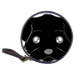 Affenpinscher Cartoon 2 Sided Head CD Wallet