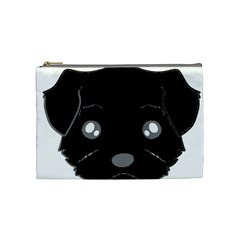 Affenpinscher Cartoon 2 Sided Head Cosmetic Bag (Medium)