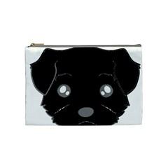 Affenpinscher Cartoon 2 Sided Head Cosmetic Bag (Medium)