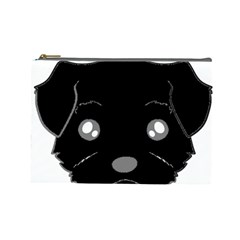 Affenpinscher Cartoon 2 Sided Head Cosmetic Bag (Large)