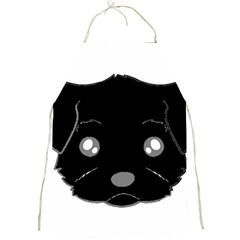 Affenpinscher Cartoon 2 Sided Head Apron