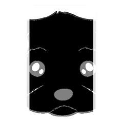 Affenpinscher Cartoon 2 Sided Head Memory Card Reader (Rectangular)